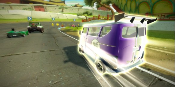 Kinect Joy Ride an�lisis