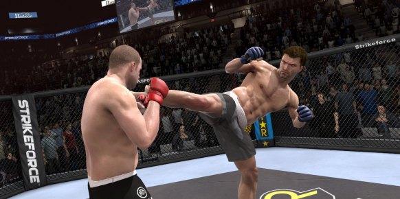 EA Sports MMA: EA Sports MMA: Impresiones jugables