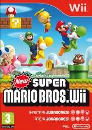 Carátula de New Super Mario Bros - Wii