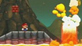 V�deo New Super Mario Bros - Gameplay: Evitando la lava