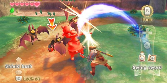 Zelda Skyward Sword: Impresiones