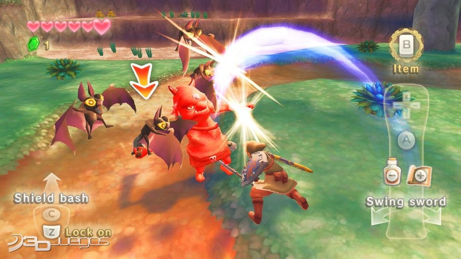 Zelda Skyward Sword - Impresiones