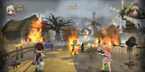 Zombie Panic in Wonderland (Nintendo Wii)