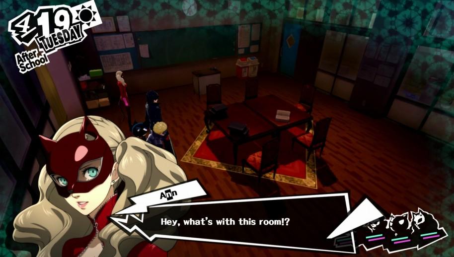 Persona 5: Persona 5: Profesores y demonios