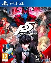 Carátula de Persona 5 - PS4