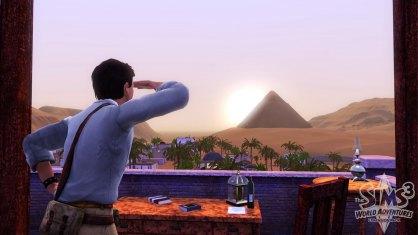 Los Sims 3 Trotamundos: Los Sims 3 Trotamundos: Primer contacto