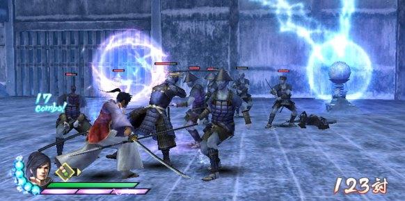 Samurai Warriors 3 Wii
