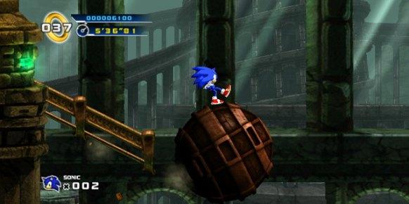 Sonic 4 Episode 1 Wii