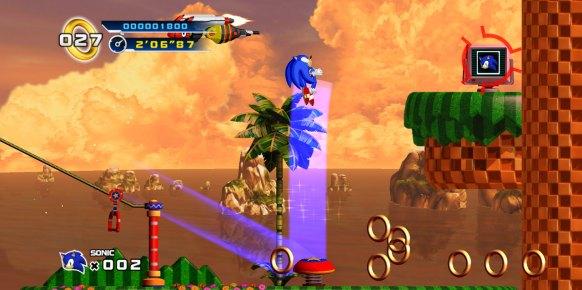 Sonic 4 Episode 1: Sonic 4 Episode 1: Primer contacto