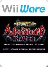 Carátula de Castlevania ReBirth - Wii