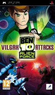 Carátula de Ben 10 Alien Force: Vilgax Attacks - PSP
