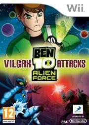 Carátula de Ben 10 Alien Force: Vilgax Attacks - Wii
