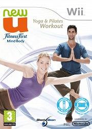 Carátula de NewU Fitness First Mind Body - Wii