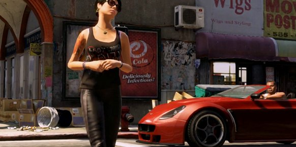 GTA 5: Grand Theft Auto V: Imaginando
