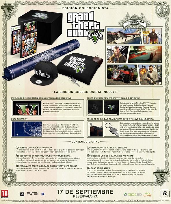 Edición Coleccionista de Grand Theft Auto V