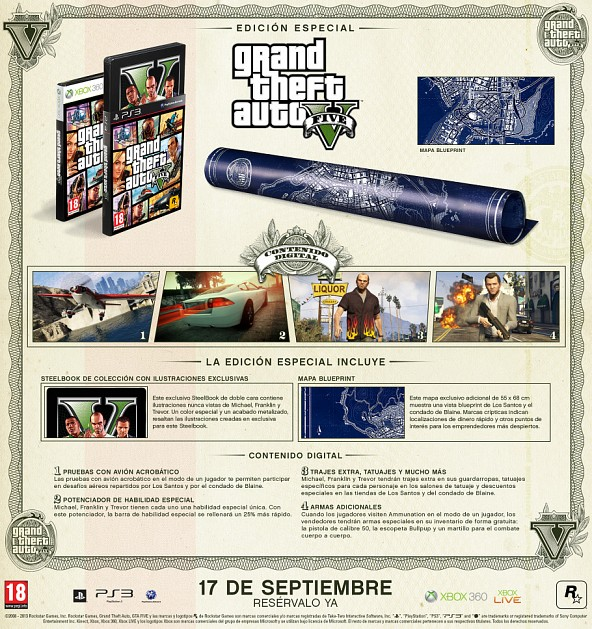 Edición Especial de Grand Theft Auto V