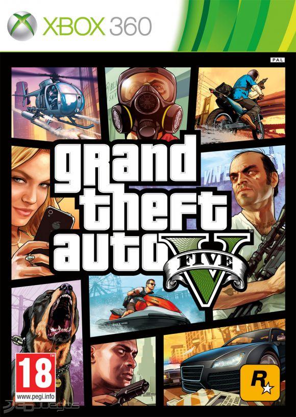Grand Theft Auto V Para Xbox 360 3djuegos