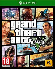 Carátula de Grand Theft Auto V - Xbox One