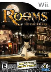 Carátula de Rooms: The Main Building - Wii