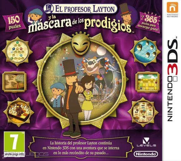 Primer Contacto Profesor Layton Y La Máscara Milagrosa Profesor Layton Y La Máscara Página 2