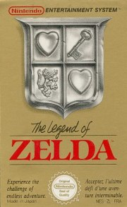 Carátula de The Legend of Zelda - NES