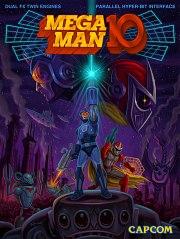 Carátula de Mega Man 10 - PS3