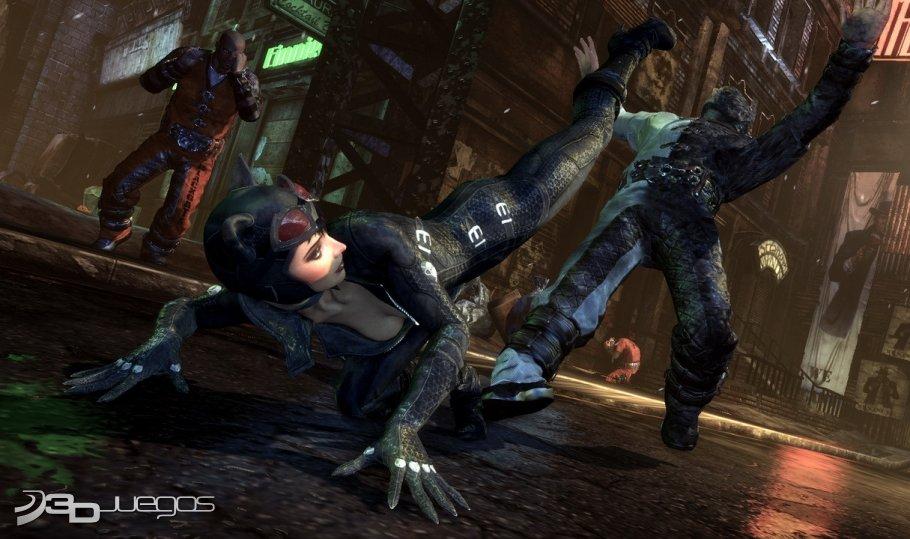 Batman Arkham City - Impresiones Catwoman