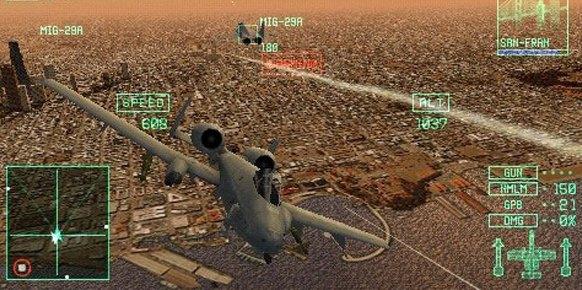Ace Combat Joint Assault: Ace Combat Joint Assault: Primer contacto
