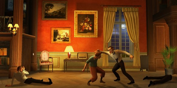 Las Aventuras de Tintín: Las Aventuras de Tintín: Primer contacto