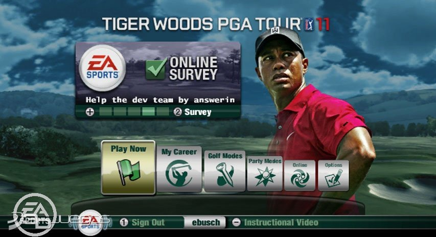 Tiger Woods PGA Tour 11 - An�lisis