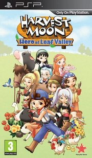 Harvest Moon: Hero of Leaf Valley PSP
