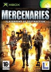 Carátula de Mercenaries - XBOX