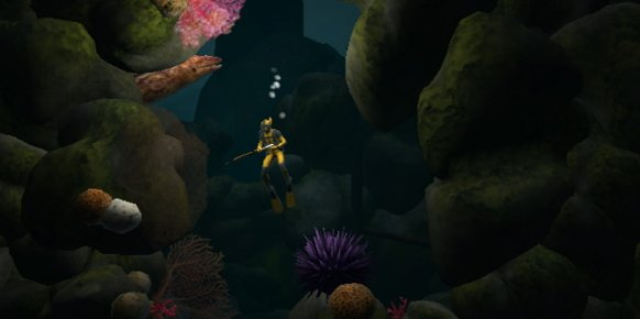 Dive The Medes Islands Secret Wii