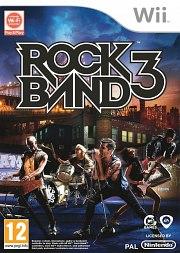 Carátula de Rock Band 3 - Wii