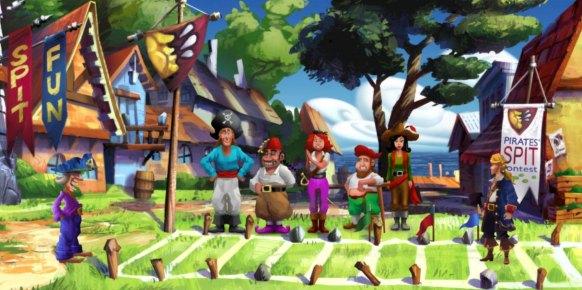 Monkey Island 2 Edición Especial: Monkey Island 2 Edición Especial: Primer contacto