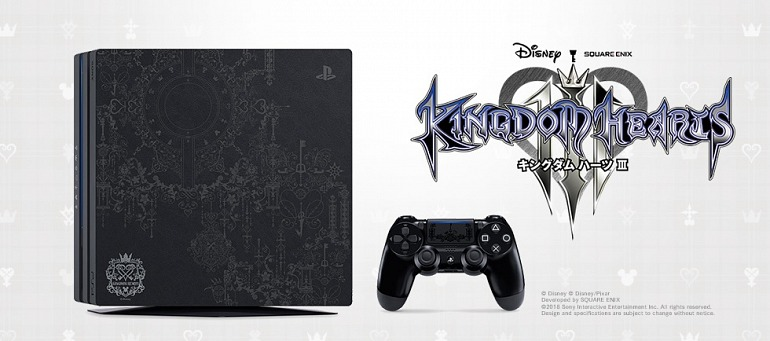 Edición especial PS4 Pro - Kingdom Hearts 3