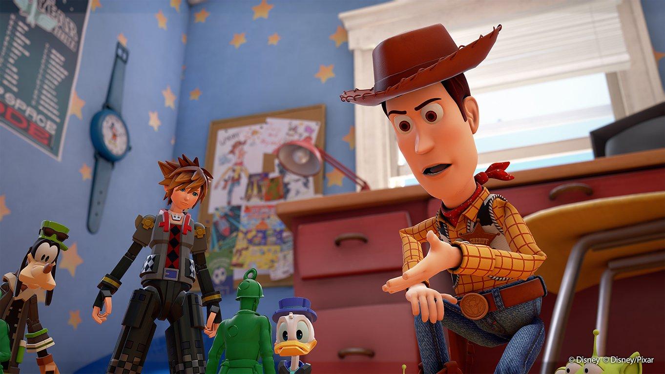 Toy Story POR FIN aparecerá en Kingdom Hearts