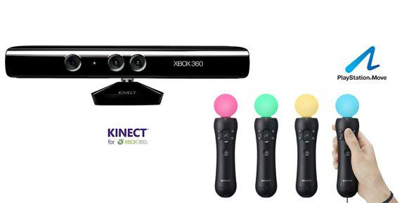 Kinect para Xbox 360 y PlayStation Move para PS3