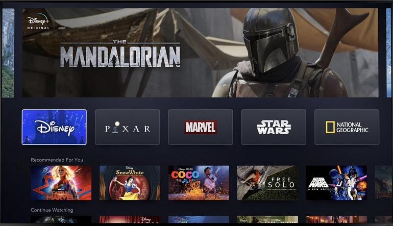 Disney+, la plataforma de TV de Disney, anuncia lanzamiento también en consolas