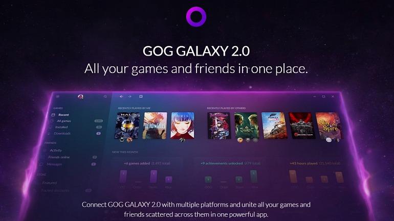 CD Projekt detalla GOG Galaxy 2.0 ¡Una lanzadera para gobernarlas a todas!
