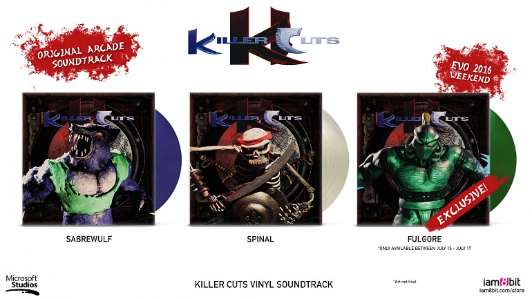 La banda sonora de Killer Instinct, Killer Cuts, revive en forma de lujoso vinilo