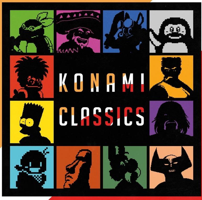 Konami Classics, el nuevo libro de GamePress que homenajea el 50º aniversario de Konami