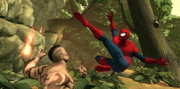 Spider-Man Dimensions: Primer contacto