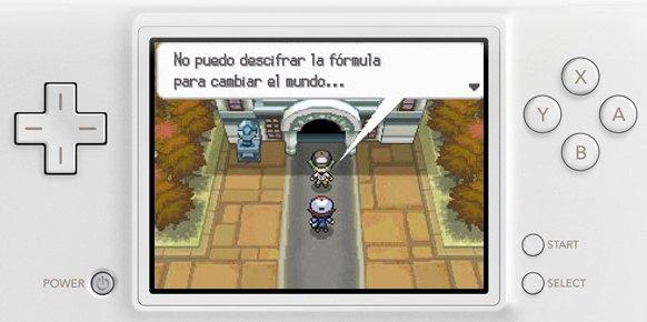 Pokémon Edición Blanca DS
