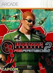 Carátula de Bionic Commando Rearmed 2 - Xbox 360