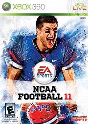 NCAA Football 11 Xbox 360
