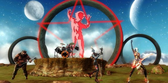 Guitar Hero Warriors of Rock Wii