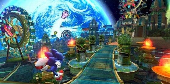 Sonic Colours: Sonic Colours: Primer contacto