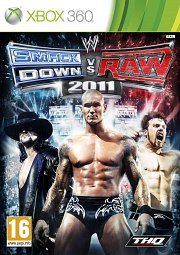 Carátula de WWE: Smackdown vs. RAW 2011 - Xbox 360