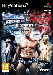 Carátula de WWE: Smackdown vs. RAW 2011 - PS2